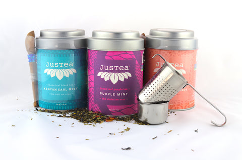 Tin Canister Of Specialty Justea (Kenya)