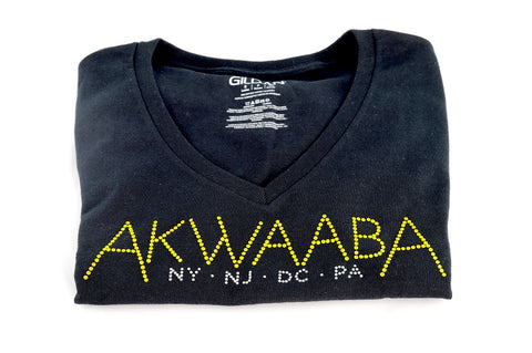 Akwaaba Studded Cotton T-Shirt