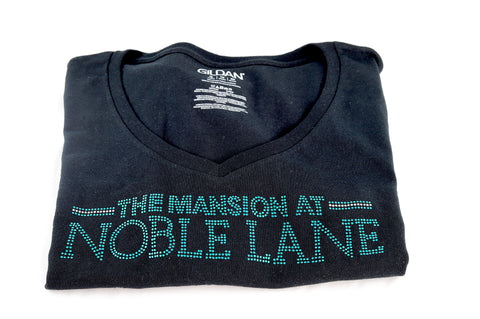 Noble Lane Studded Cotton T-Shirt
