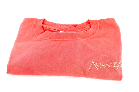 Akwaaba Embroidered Cotton T-Shirt