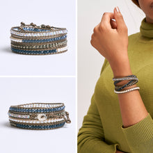 Load image into Gallery viewer, Corvi Wrap Bracelet