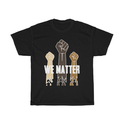 We Matter Unisex Heavy Cotton Tee-0031