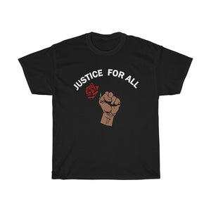 Justice For All Unisex Heavy Cotton Tee-0035