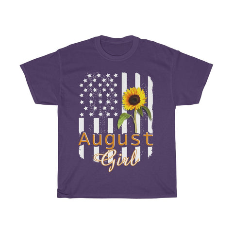 August Girl Unisex Heavy Cotton Tee-0010