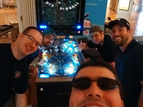 The DIY Pinball Team
