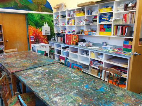 My favourite space - an art room