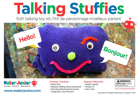 Our Talking Stuffie Kit