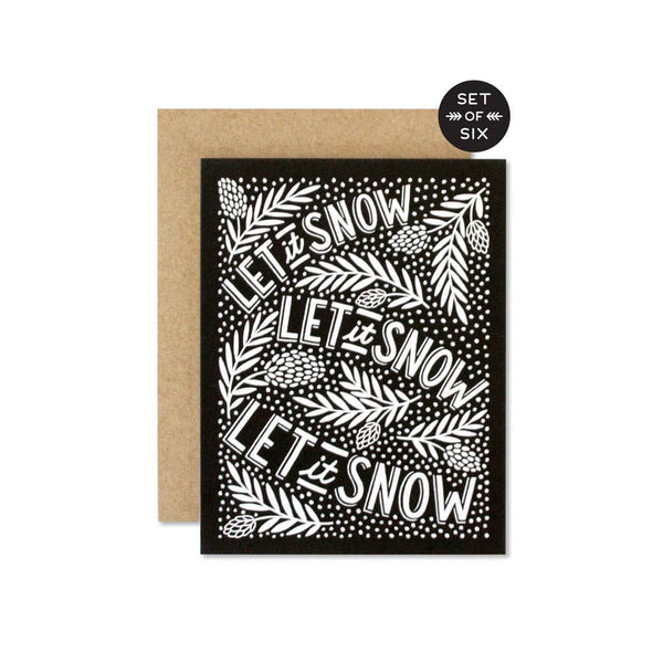 Let it Snow - Set of 6