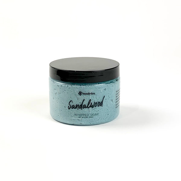 Sandalwood Whipped Soap
