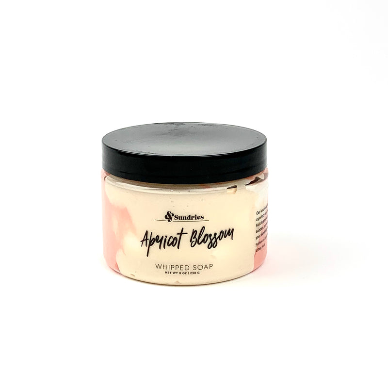 Apricot Blossom Whipped Soap
