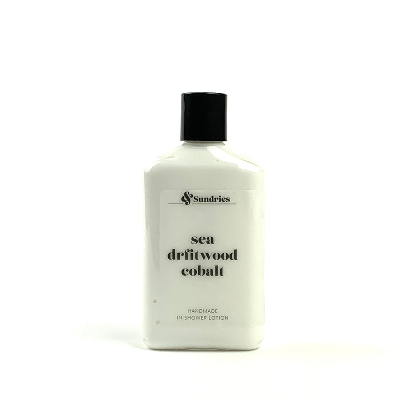 Sea Driftwood Cobalt In-Shower Lotion