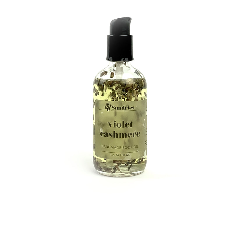 Violet Cashmere Body Oil