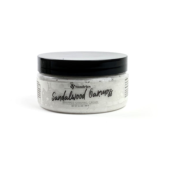 Sandalwood Oakmoss Whipped Shaving Cream