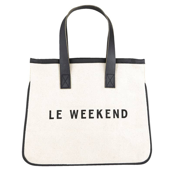 Mini Canvas Tote - Weekend
