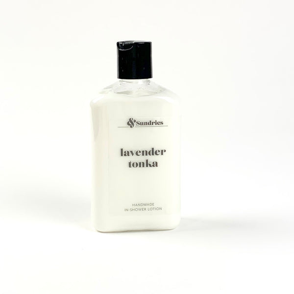 Lavender Tonka In-Shower Lotion