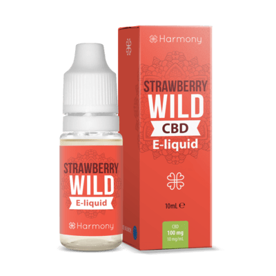 CBD E-Liquid Wild Strawberry - CBDNOL