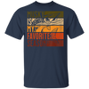 Distressed Vintage Musky Fishing Is My Favorite Season Gift T-Shirt