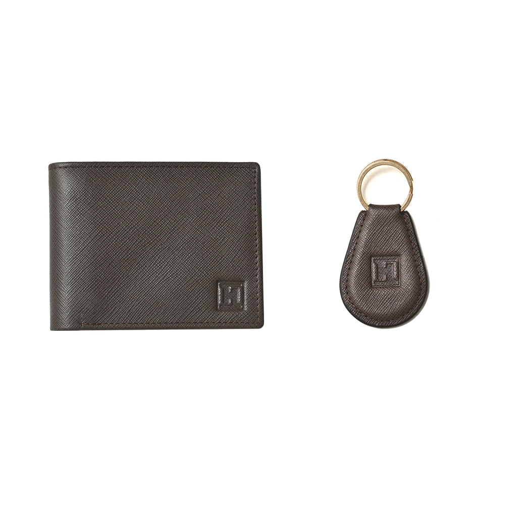 Spirit Wallet & Keychain (Brown)