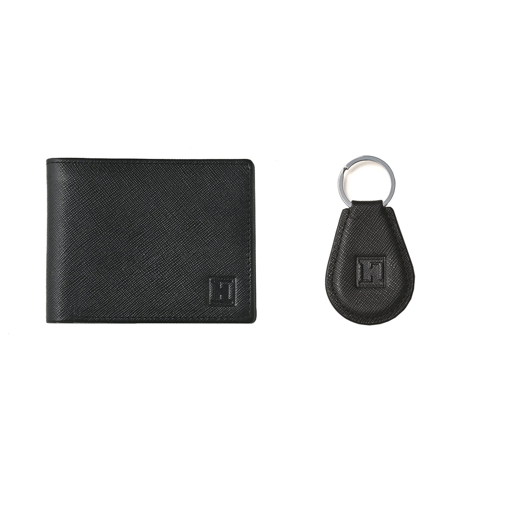 Spirit Wallet & Keychain (Black)