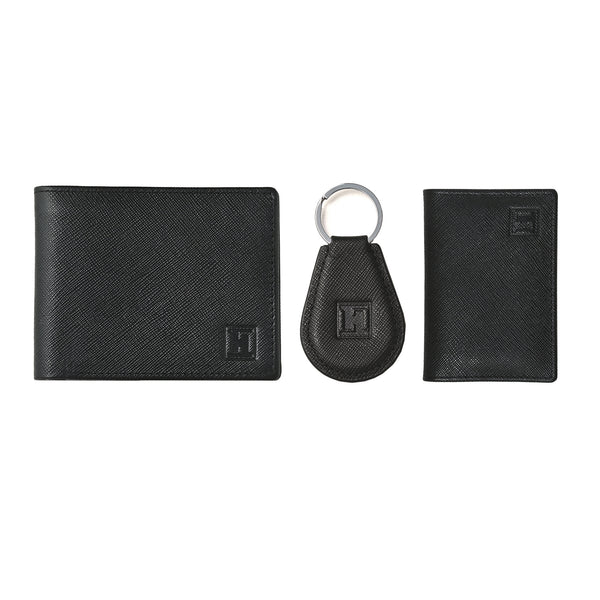 Spirit Wallet, Card Holder & Keychain (Black)