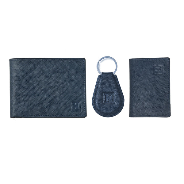 Spirit Wallet, Card Holder & Keychain (Blue)