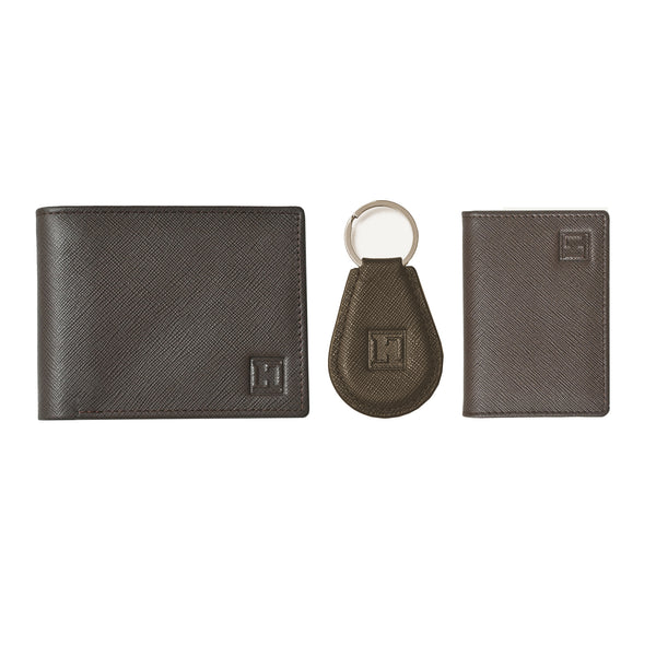 Spirit Wallet, Card Holder & Keychain (Brown)