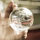 Clear Glass Crystal Ball Healing Sphere Photography Props Lensball Decor Gift Home Wedding Decoration versieringen voor feest
