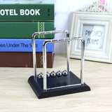 Newton Cradle Iron Balance Ball Physics Science Pendulum Home Decoration Child Early Fun Development Educational Desk Toy Gift