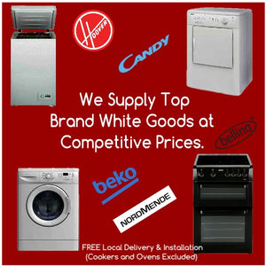 White Goods available from Lodge's Homevalue