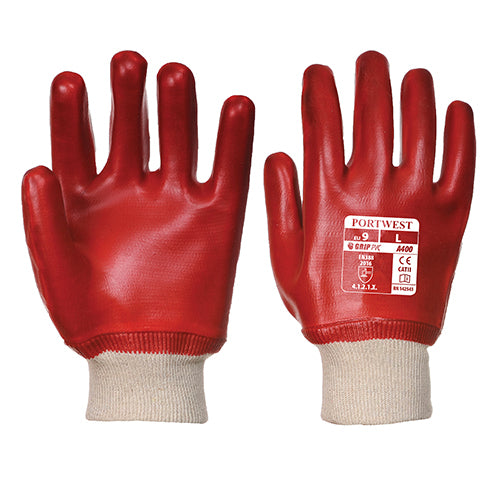 PVC Knitwrist Gloves