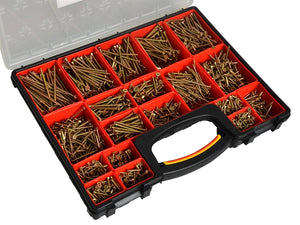 Mixed Screw Assortment 1500pc