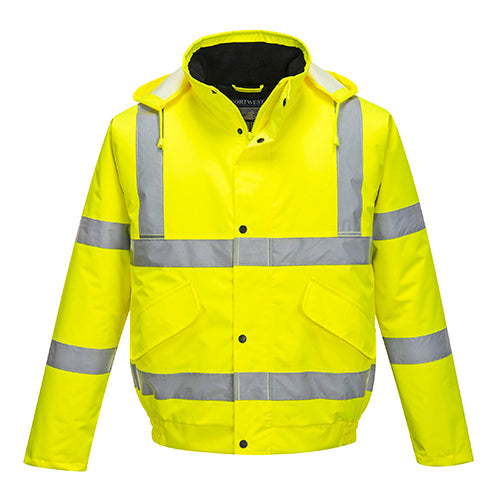 Hi-Vis Bomber Jacket Large