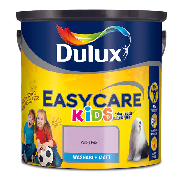 Dulux Kids Easycare Purple Pop 2.5ltr