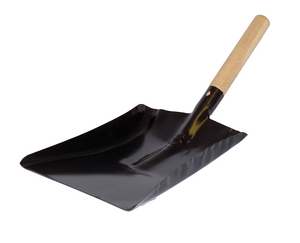 "5"" Shovel Black - Wooden Handle"