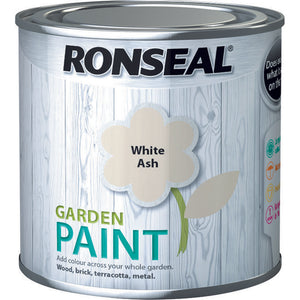 Ronseal Garden Paint 250ml White Ash