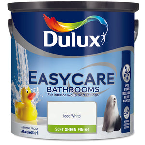 Dulux Easycare Bathrooms Iced White  2.5L