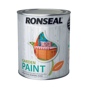 Ronseal Garden Paint 750ml Sunburst