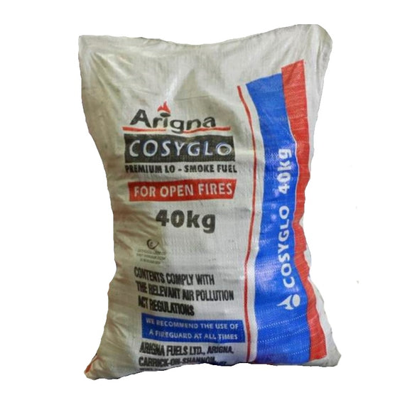 40kg Arigna CosyGlo Coal (Multibuy Available)