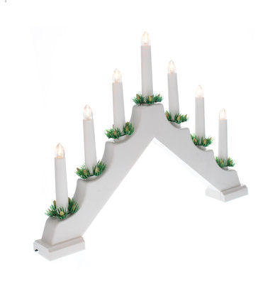 Candle Bridge White (Battery Operated)
