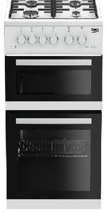 Beko 50cm Natural Gas Cooker KDG582W