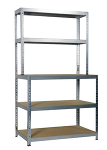 Boltless Shelving Workstation 180x100x60cm