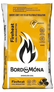 Bord Na Mona Fireheat Coal (Multibuy Available)
