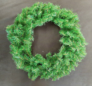 Wreath with Canadian Pine Tips