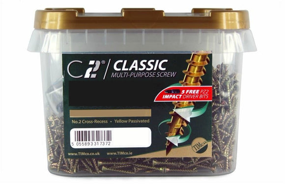 Classic Multipurpose Screw Tub 5 x 70mm