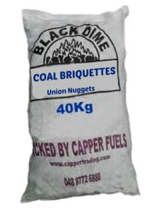 40kg Coal Briquettes (Multibuy Available)