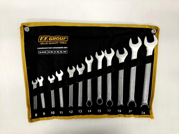 Combination Spanner Set 12 Piece