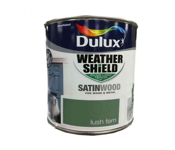 Dulux Exterior Satinwood Paint Lush Fern 750ml