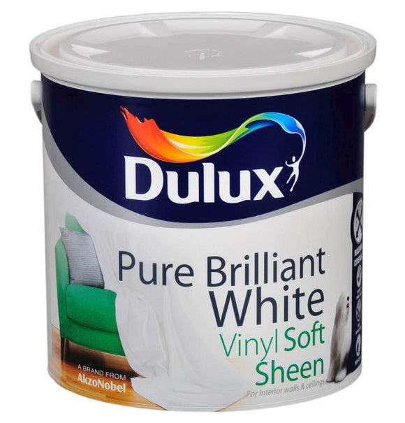 Dulux Soft Sheen Pure Brilliant White  2.5L