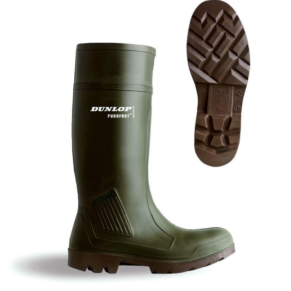 Dunlop Purofort Wellingtons Size 8