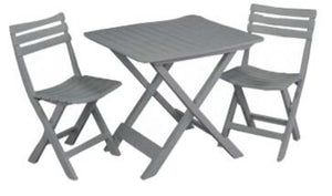 Foldable 2 Seater Bistro Set